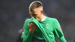 Maximilian Eggestein und der SV Werder Bremen warten seit acht Spielen auf einen Sieg