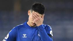 James Rodríguez (hier für den FC Everton) erlebte ein Debakel in der Wüste