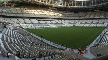 Final-Stadion der WM 2022 so gut wie fertig