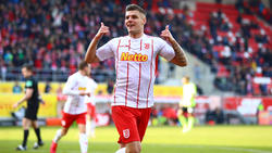 Jahn Regensburg jubelte gegen den SV Wehen