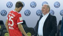 Thomas Müller (l.) stand kurz vor einem Wechsel zur TSG Hoffenheim