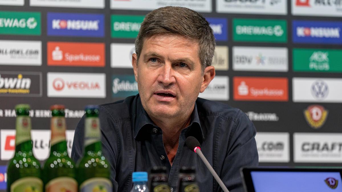 Dynamo-Geschäftsführer Ralf Becker