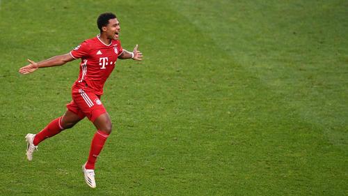 Serge Gnabry erzielte zwei Tore für den FC Bayern