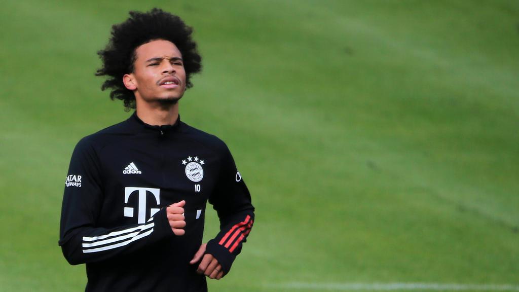 Leroy Sané will schon bald wieder für die Bayern auflaufen