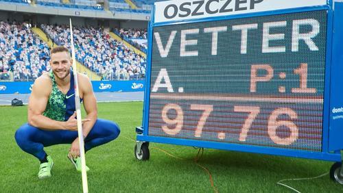 Für Johannes Vetter steht der Olympiasieg an erster Stelle