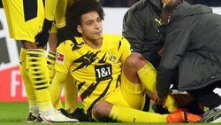 Axel Witsel verletzte sich im Spiel gegen RB Leipzig