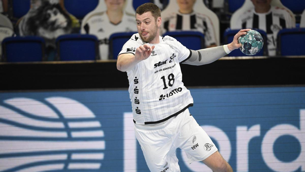 Niclas Ekberg hat seinen Vertrag beim THW Kiel verlängert