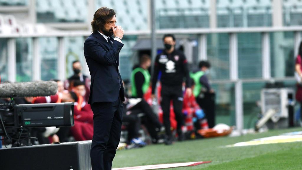 Andrea Pirlo droht das Aus bei Juventus Turin
