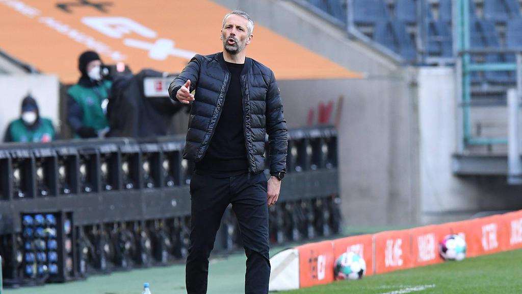 Marco Rose tritt mit Gladbach gegen den FC Bayern an