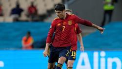 Alvaro Morata auch gegen Polen im Sturm gesetzt