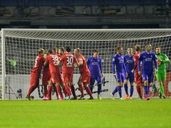 Der 1. FC Heidenheim feiert einen Sieg beim FC Erzgebirge Aue