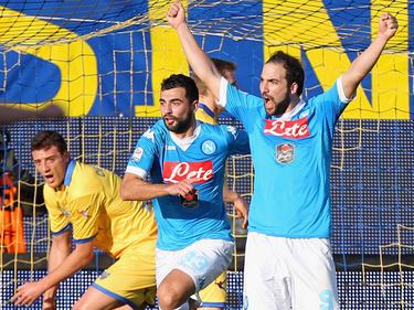 Higuaín podría convertirse en el máximo goleador en toda la historia de la Serie A,. (Foto: Getty)