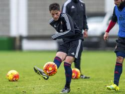 Miguel Olavide im Trainingbetrieb von Osasuna