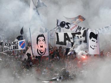 Die Fans von Colo Colo stimmen sich auf das Derby ein