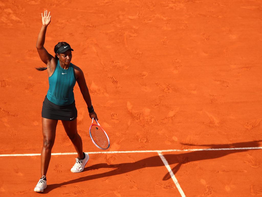 Sloane Stephens steht im Finale der French Open