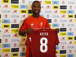 Naby Keita trägt in Liverpool künftig die Nummer 8