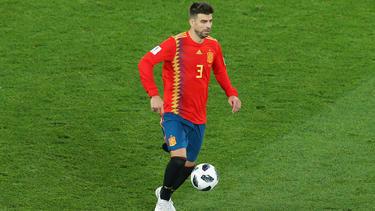 Gerard Piqué war jahrelang Stammspieler für Spanien