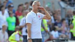 Adi Hütter schied mit Frankfurt krachend aus dem DFB-Pokal aus