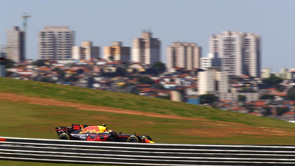 Das Autodromo Jose Carlos Pace, der Formel-1-Kurs in Interlagos