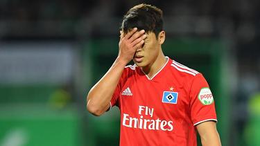 Hee-chan Hwang fehlt dem HSV in Aue
