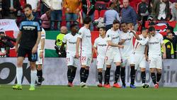 El Sevilla dejó a la Lazio fuera de la Europa League. (Foto: Getty)