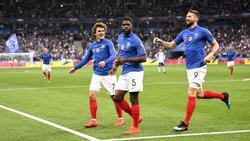 Umtiti abrió el marcador para los franceses. (Foto: Getty)