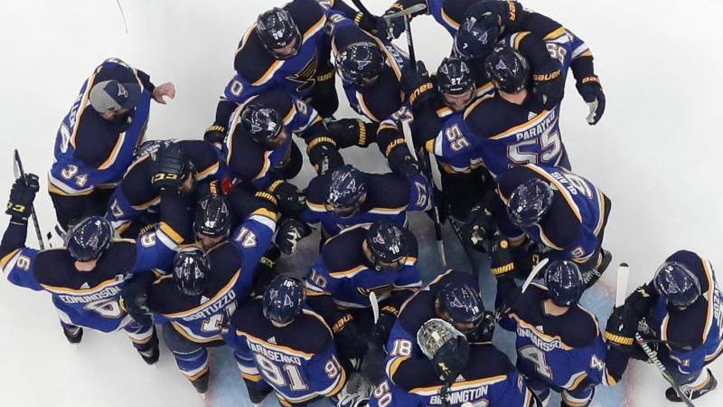 Die St. Louis Blues stehen im NHL-Finale