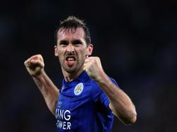 In der Champions League läuft es für Ex-ÖFB-Teamkapitän Christian Fuchs mit Leicester City nach Wunsch