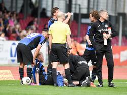 Kapitän Ochs verletzte sich gegen Fortuna Köln schwer