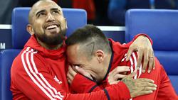FranckRibéry spricht über Vidal-Abgang vom FC Bayern