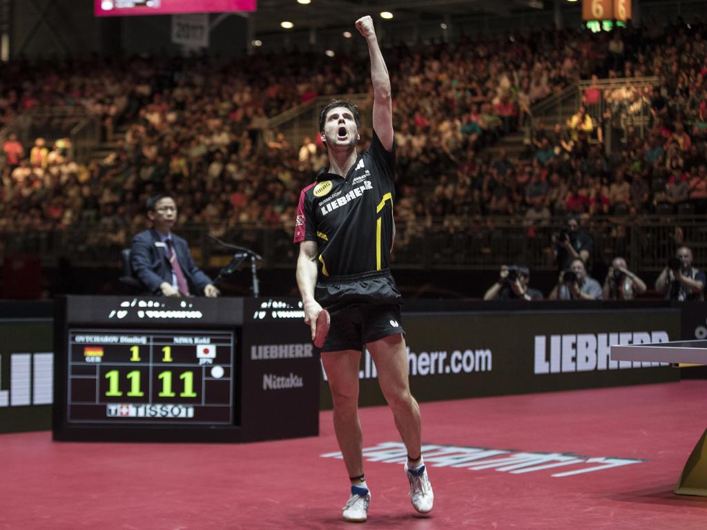 Dimitrij Ovtcharov ist Erster der Weltrangliste