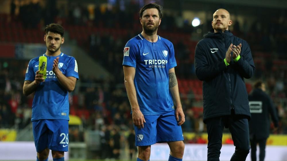 Tim Hoogland (m.) verlässt den VfL Bochum