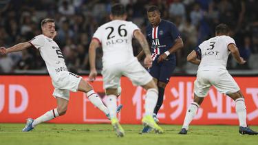 Kylian Mbappé erzielte für PSG ein Tor im Supercup