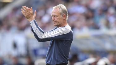 Aktuell der dienstälteste Trainer der Bundesliga: Christian Streich