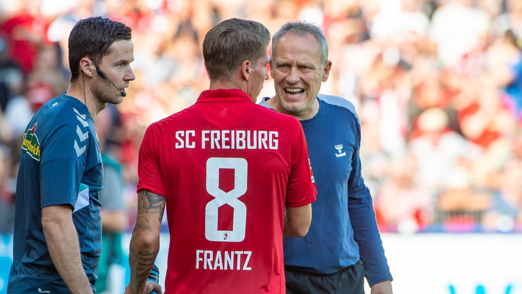 Mike Frantz fehlt dem SC Freiburg gegen Fortuna Düsseldorf