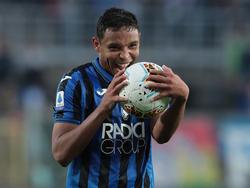 Luis Muriel es el tercer delantero del Atalanta pero el que más marca.
