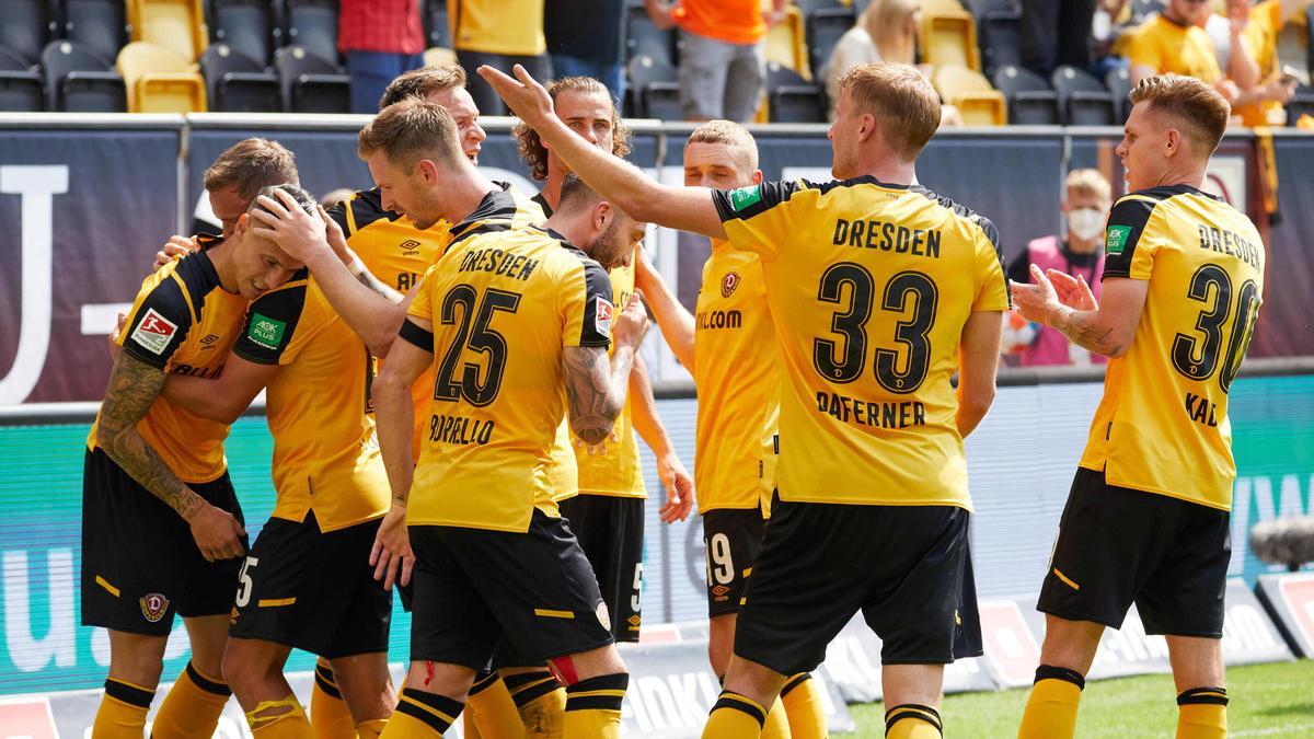 Dynamo Dresden feierte einen Traumstart in die neue Saison