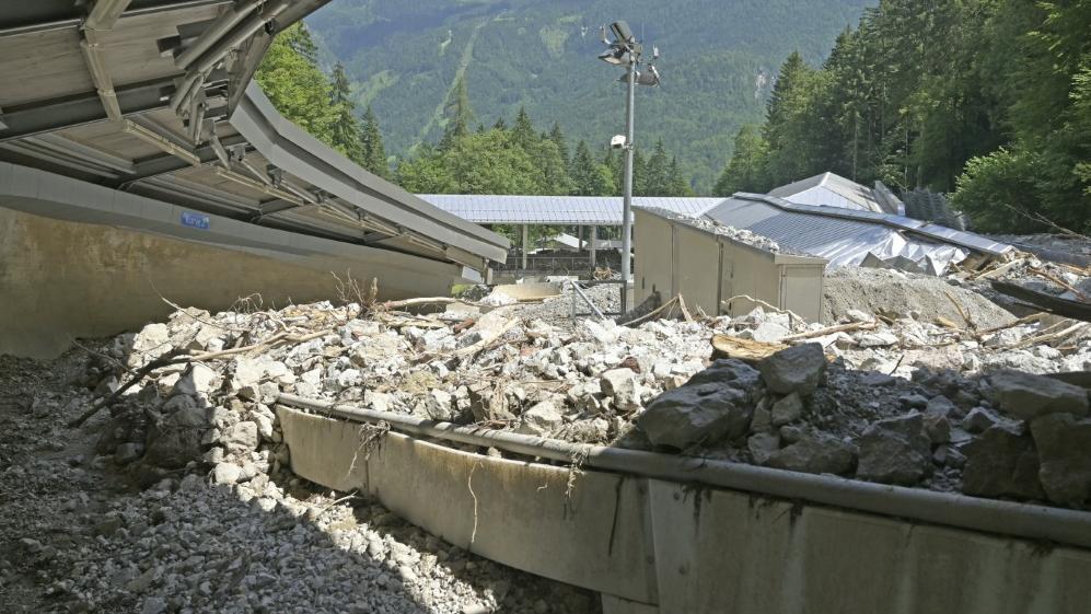 Zerstörte Bahn am Königssee: Winterberg springt ein