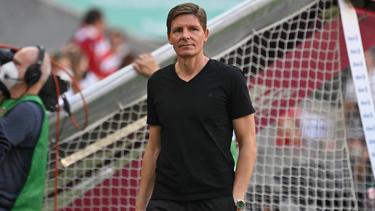 Oliver Glasner ist mit Eintracht Frankfurt in der Europa League gefordert