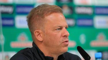 Legte mit Werder Bremen einen durchwachsenen Start hin: Markus Anfang