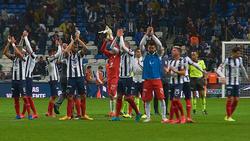 Monterrey celebra su pase de ronda en Copa MX.