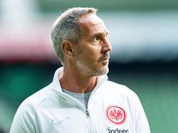 Adi Hütter ist mit seinem Kader aktuell zufrieden