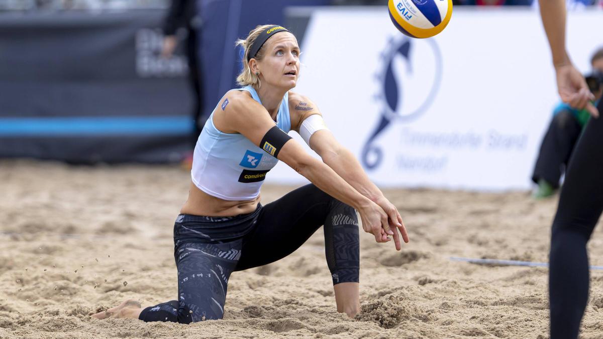 Deutscher Beachvolleyball-Star: Laura Ludwig