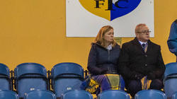 Mansfield Chairmen and owners Carolyn & John Radford