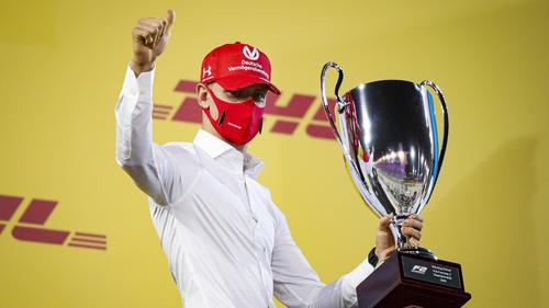 Mick Schumacher krönte sich zum Formel-2-Champion