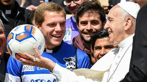 Papst Franziskus ist jetzt Mitlgied bei Boca Juniors