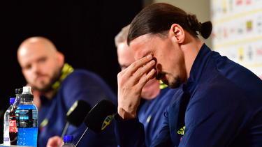 Zlatan Ibrahimovic ist wieder Teil der schwedischen Nationalmannschaft