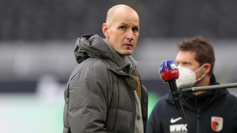 Herrlich und der FCA treffen auf Eintracht Frankfurt
