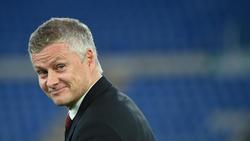 Ole Gunnar Solskjaer steht mit Manchester United im Finale der Europa League