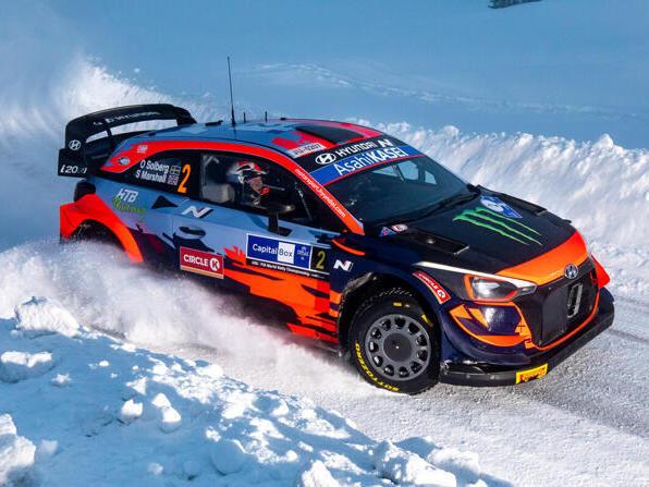 Oliver Solberg bekommt eine neue Chance, den WRC-Hyundai zu fahren